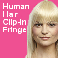 100% Human Hair Fringes
